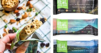 Real Food Bar Goes the Distance for Healthy Dairy-Free and Gluten-Free Snacking. Full information + ratings and reviews on this fulfilling, healthy bar line.