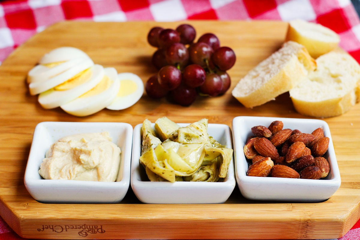 Dairy-Free Vesper Boards - Tips for making your own German-style, cheese-free board - for meals or snacks