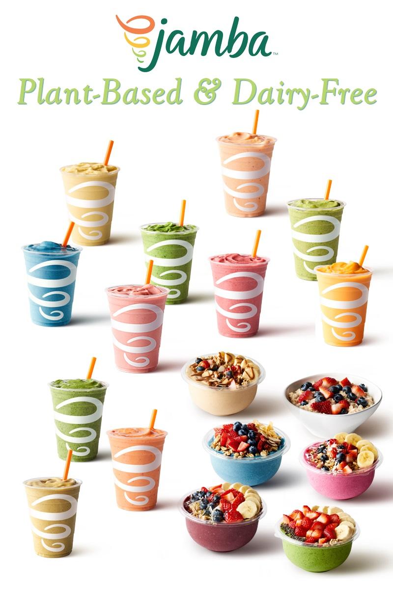 Plant-Based and Dairy-Free Jamba Menu Guide