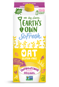 Earth's Own Oat Milk comes in Three Flavors and Sizes. We have the ingredients, ratings, and more