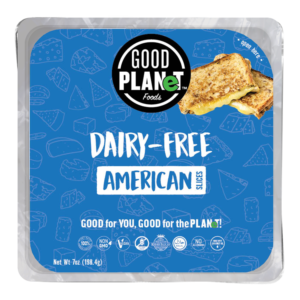 Good Planet Dairy-Free Cheese Slices Review and Information - vegan and top food allergen free. 5 Flavor varieties ...