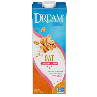 Dream Oat Beverage Review and Information - ingredients, nutrition, certification, and more on this dairy-free, nut-free, vegan oat milk line