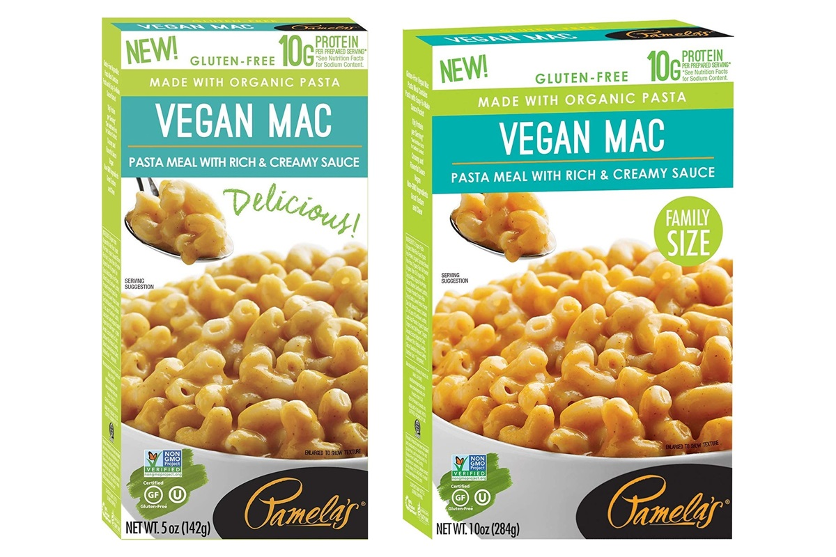 Pamela's Vegan Mac n' Cheese Review & Info (Gluten-Free!)