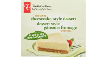President's Choice Vegan Cheesecake Style Dessert Review and Information - dairy-free, nut-free, soy-free cheesecake at Loblaw's stores in Canada!