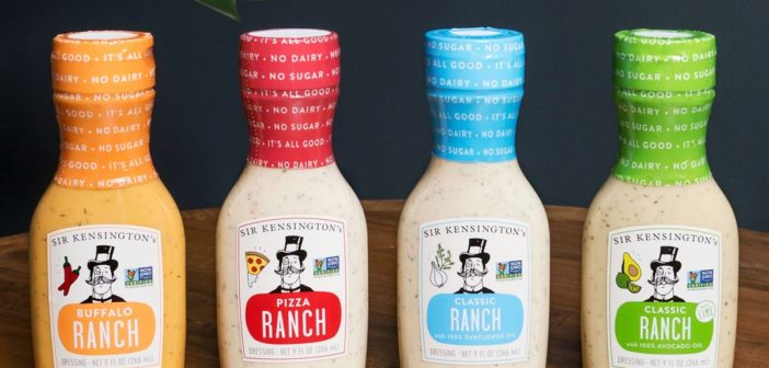 Sir Kensington's Ranch Dressing Does Dairy-Free Right in Four Flavors