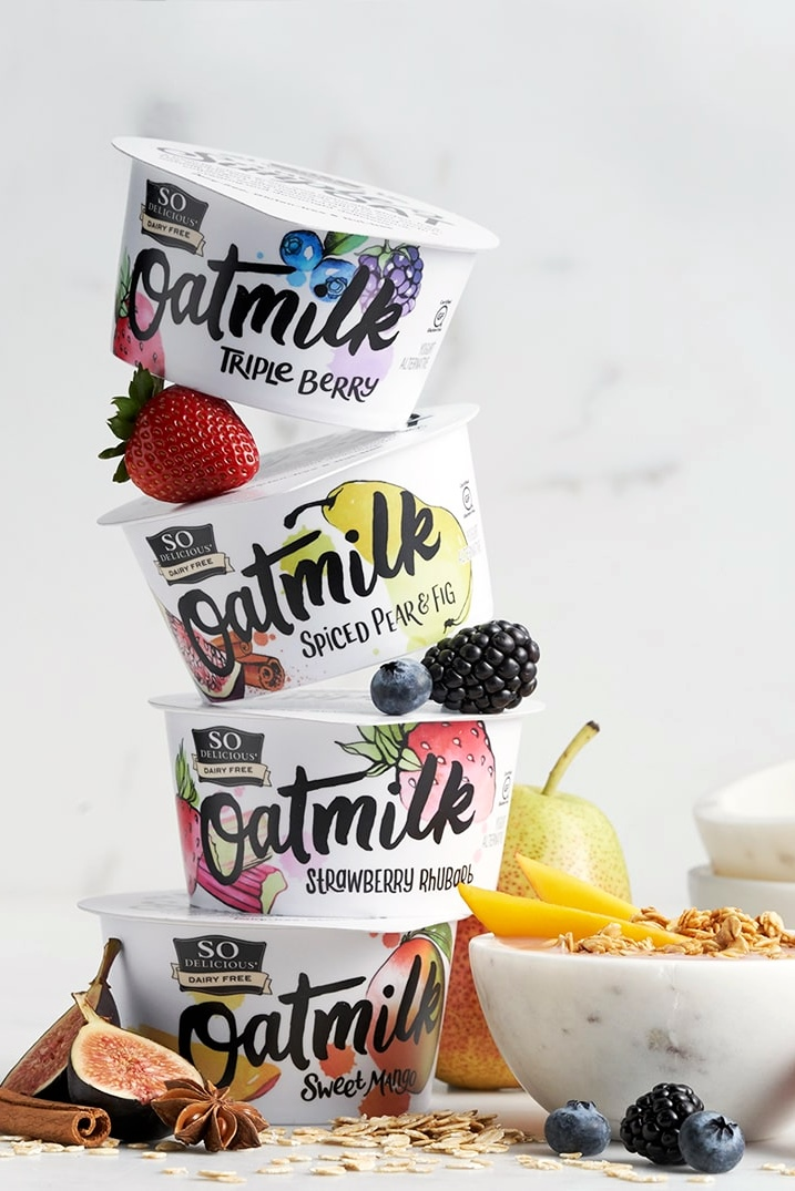 So Delicious Oatmilk Yogurt Alternative Review & Information - ingredients, nutrition facts, ratings and more for this dairy-free, soy-free, pea protein-free, probiotic-rich yogurt line