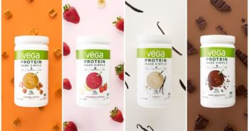 Vega Protein Made Simple Powder - just 4 to 8 ingredients, dairy-free, vegan, soy-free, and gluten-free