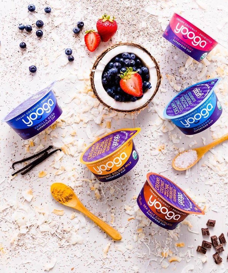 Yooga Dairy-Free Yogurt Makes Low Sugar Flavors in Superfood Cups - Review and Full Information, including ingredients, nutrition, availability, ratings, and more (vegan, soy-free, gluten-free)