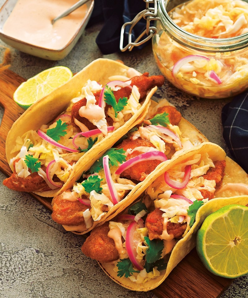 Vegan Sweet Potato Tacos Recipe from 30-Minute Frugal Vegan Recipes (sample recipe from a new cookbook!)