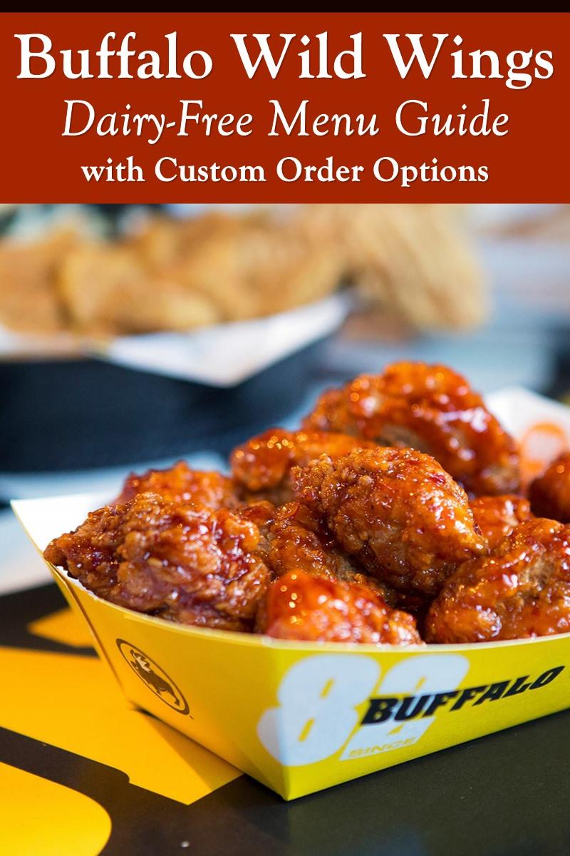 Buffalo Wild Wings Dairy-Free Menu Guide with Custom Order Options