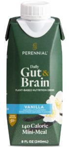 Perennial Daily Gut & Brain Health Reviews and Info - dairy-free, plant-based nutritional milk beverage for people over 50
