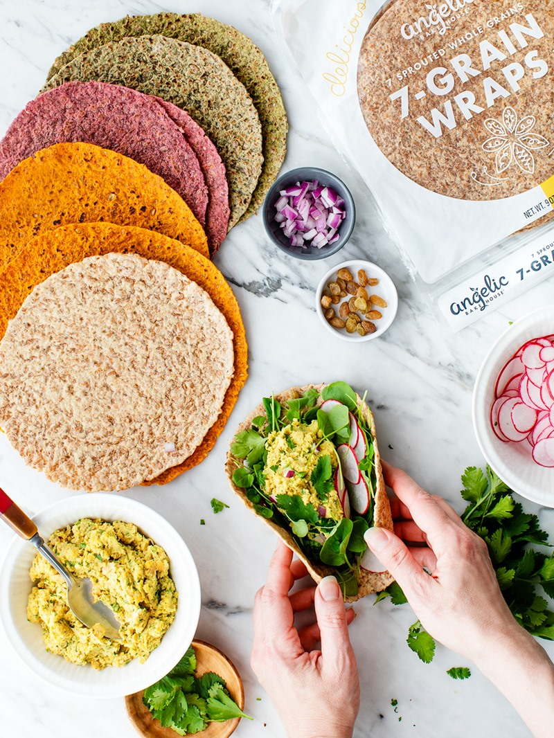 Angelic Bakehouse Makes Healthy Meals Easy with 7 Sprouted Grains. Nutritious, vegan, dairy-free, egg-free, nut-free, soy-free, sesame-free breads, wraps, and pizza crusts.