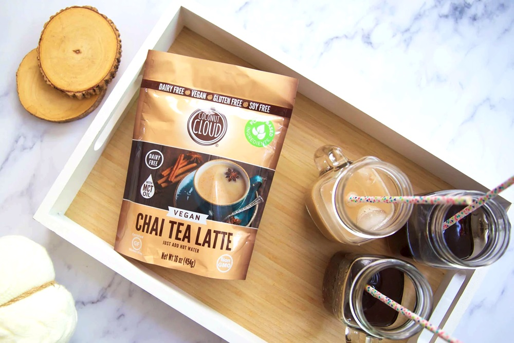 Coconut Cloud Dairy-Free Latte Mixes - Matcha Green Tea, Turmeric, Chai, and Hot Cocoa! (vegan, paleo-friendly, rich, healthy, and delicious)