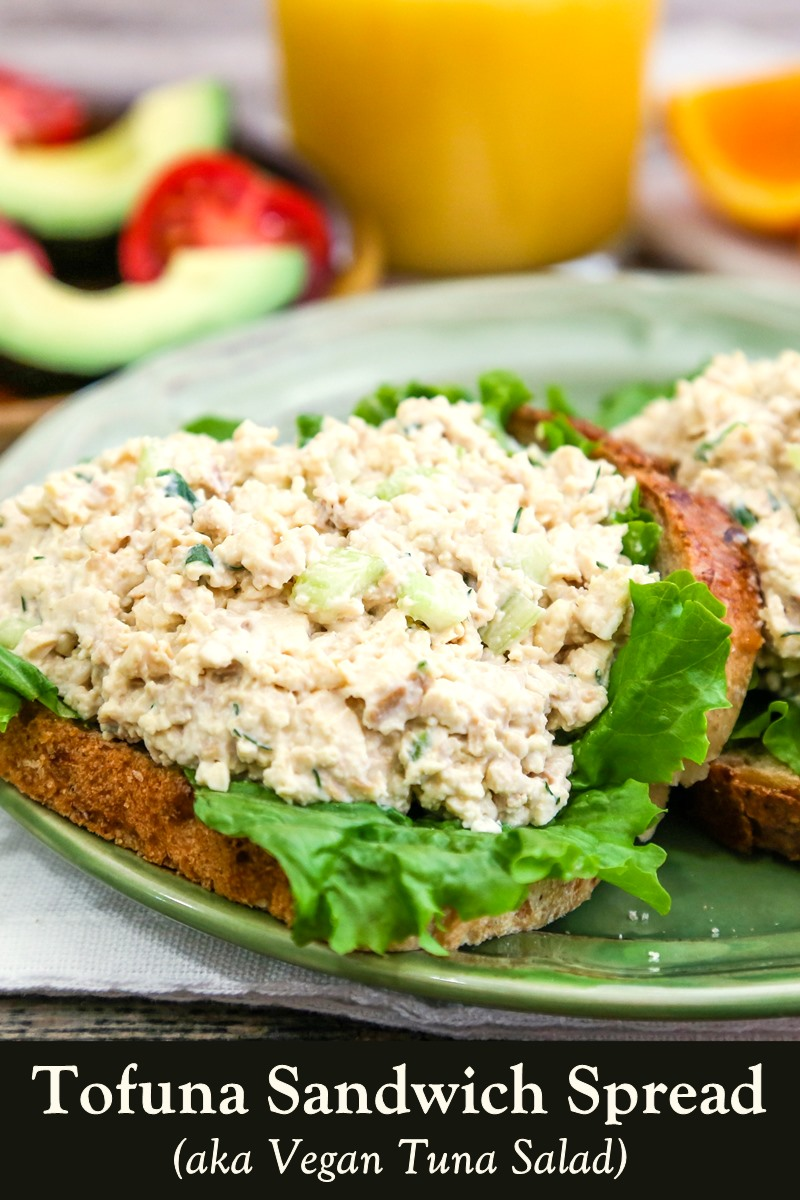 Vegan Tuna Salad Recipe (aka Tofuna Sandwich Spread) - a Healthy 5-Ingredient Recipe