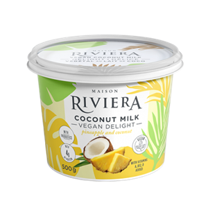Maison Riviera Vegan Coconut Milk Yogurt Review and Information - dairy-free, 6 flavors