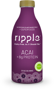 Ripple Plant Milk Review and Information - dairy-free, vegan, and allergy-friendly in classic and superfood flavors