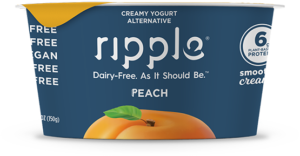Ripple Yogurt Alternative Review and Information (dairy-free, nut-free, soy-free, gluten-free, vegan) - we have nutrition, ingredients, ratings, and more.