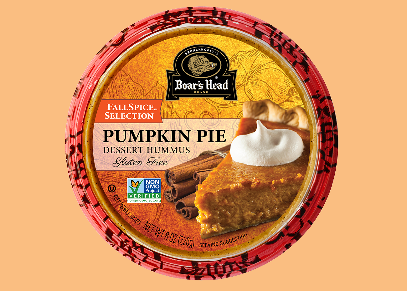 50 Dairy-Free Pumpkin Spice Sweets, Snacks, and More! Pictured: Boar's Head Pumpkin Pie Hummus