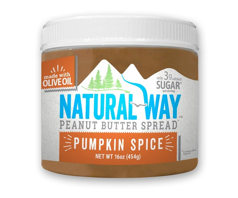 50 Dairy-Free Pumpkin Spice Sweets, Snacks, and More! Pictured: Natural Way Peanut Butter