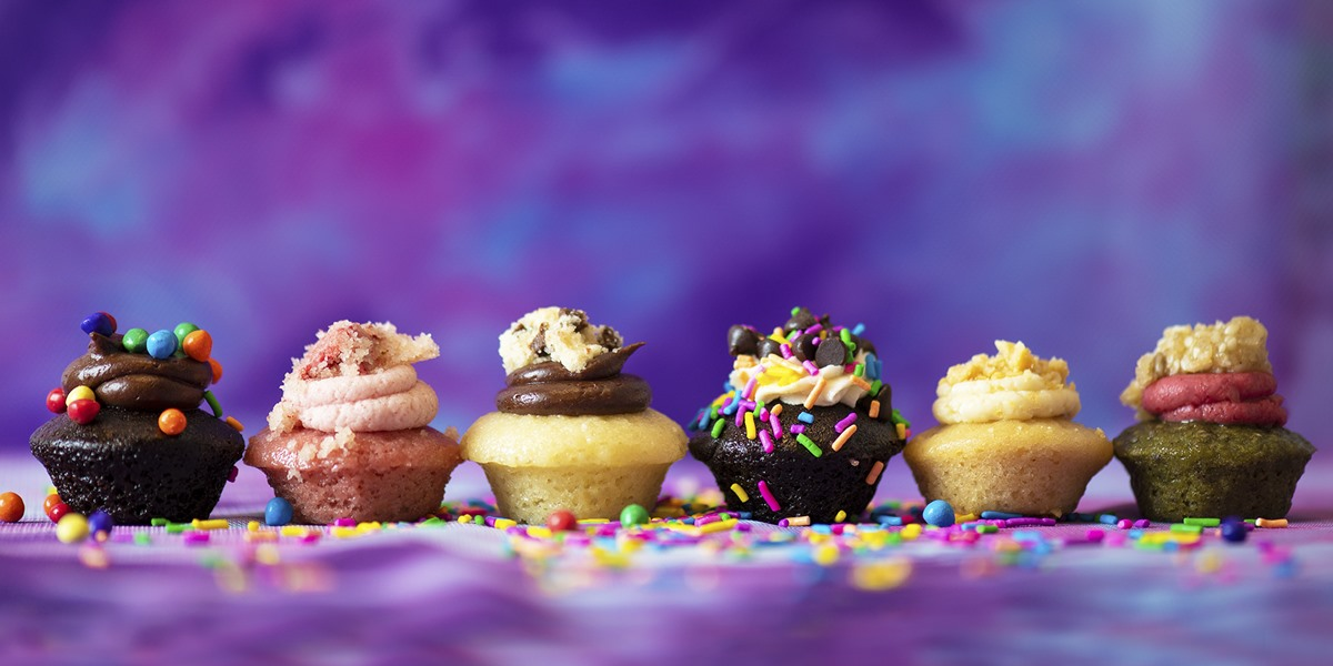 Baked by Melissa is a Bite-Sized Bakery that's Sweet on Vegan Cupcakes in Six Small Ways - locations in New York plus nationwide shipping