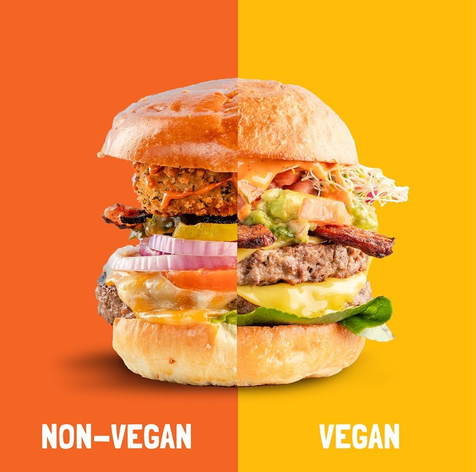 Bareburger has a 50/50 vegan menu with even more dairy-free options, and even many gluten-free and nut-free menu items.