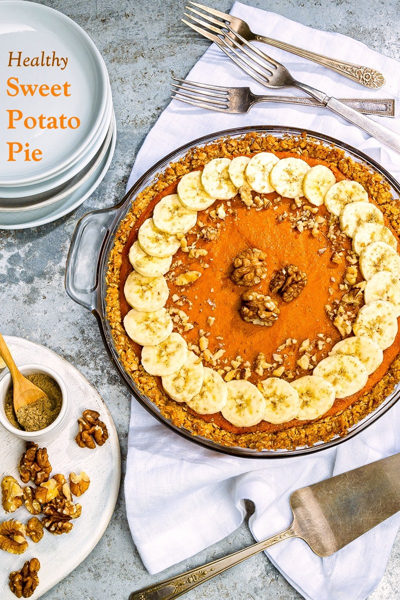 Scandinavian Sweet Potato Pie Recipe Healthy Dairy Free Low Sugar
