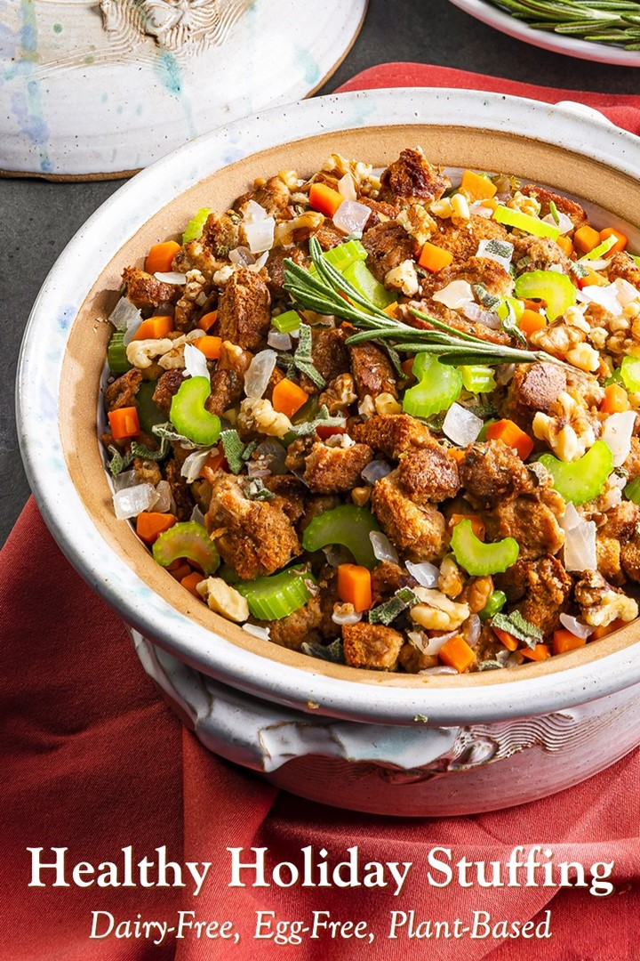Royal Vegan Holiday Stuffing Recipe from the Kingdom of Arendelle