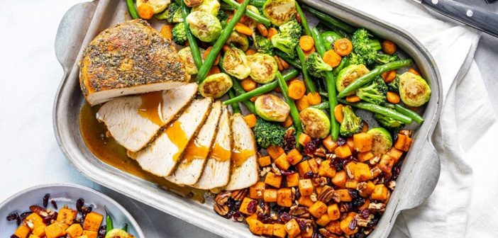 Turkey Sheet Pan Dinner is Grand Pabbie's Solution for Smaller Feasts