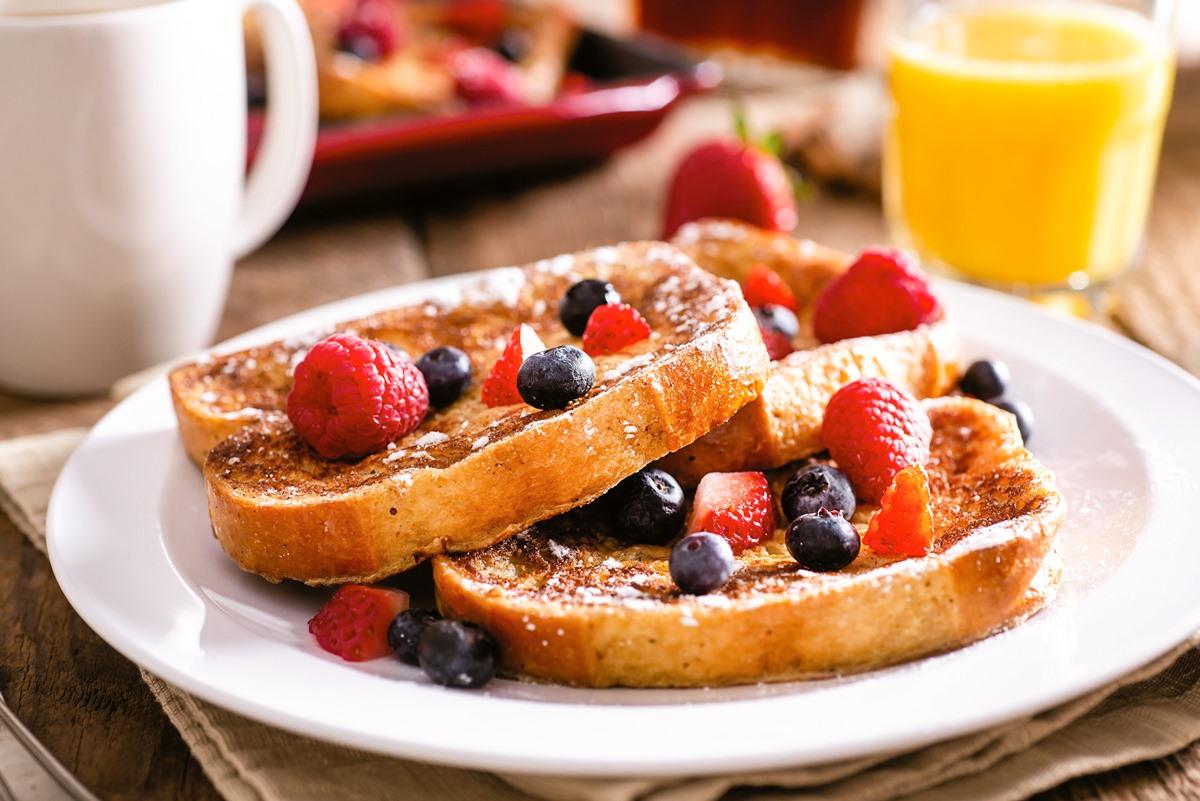 Coconut Milk & Honey French Toast Recipe (Dairy-Free)