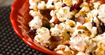 Dairy-Free Maple Bacon Popcorn Recipe with Sweet, Savory, and Salty Flavors (Gluten-Free, Soy-Free with Vegan and Nut-Free options)