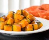 Maple-Glazed Kabocha Squash is a Quick No-Peel, Plant-Based Dish