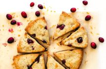 Dairy-Free Keto Cranberry-Orange Scones Recipe from The Wholesome Yum Easy Keto Cookbook