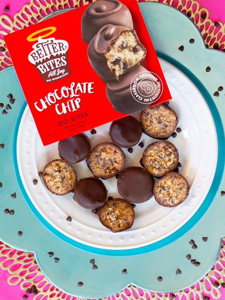 Better Bites DŌ Bites Cure Cookie Dough Envy for the Food Allergic - Review and Info (Ingredients, Nutrition, Ratings, and More) - vegan, dairy-free, egg-free, gluten-free, nut-free, soy-free