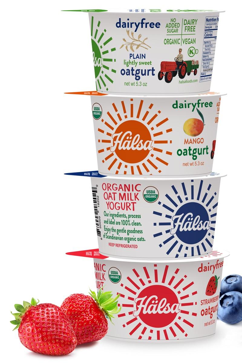 Halsa Oatgurt Oat Milk Yogurt Review & Info (Dairy-Free & Vegan) - certified organic and soy-free too.