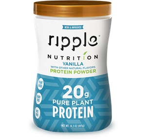 Ripple Protein Shakes Review and Info - dairy-free, soy-free, gluten-free, nut-free, vegan - high protein (powders are sugar-free). We have ingredients, nutrition, ratings, and more.