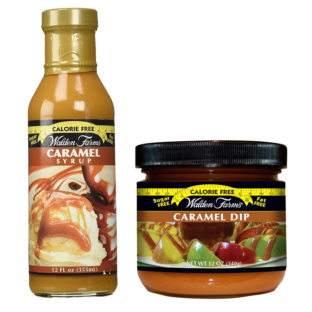 Walden Calorie Free Caramel Syrup and Dip are also Dairy-Free!