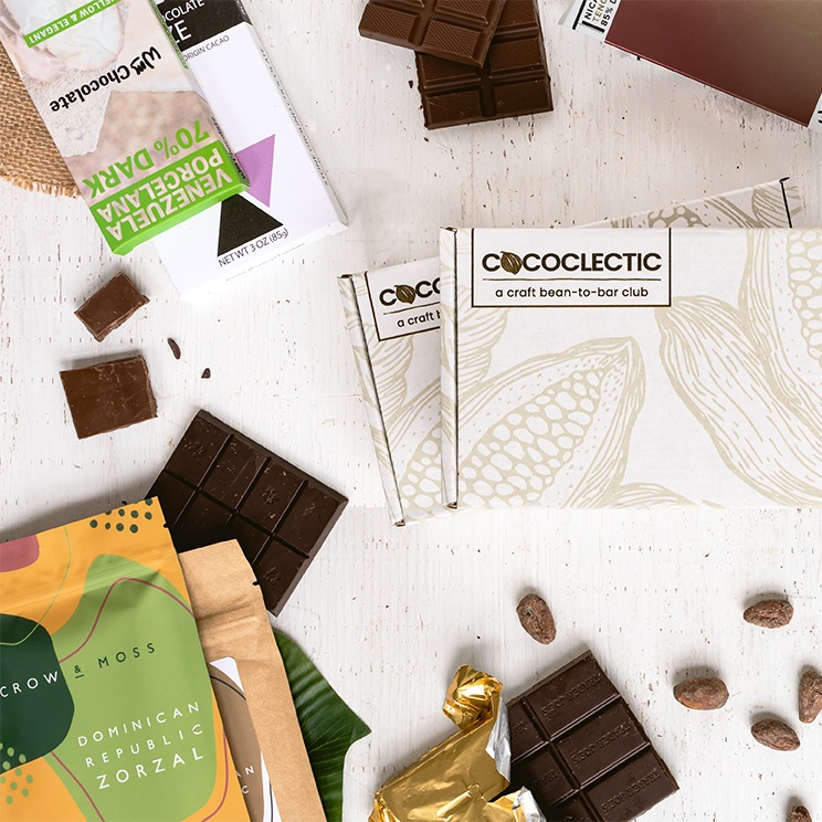 Cococlectic Bean-to-Bar Dairy-Free Chocolate Club - Best Chocolate Gifts for the Holidays