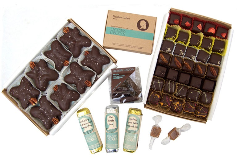 The Best Dairy-Free Chocolate Gifts for the Holidays. Pictured: Lagusta's Luscious Caramel Collection