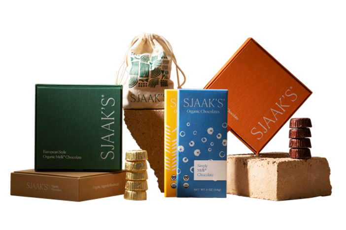 The Best Dairy-Free Chocolate Gifts for the Holidays. Pictured: Sjaaks