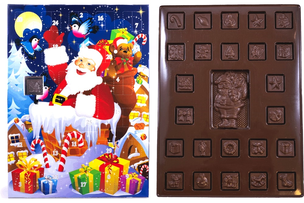 Amanda's Own Dairy-Free Advent Calendars