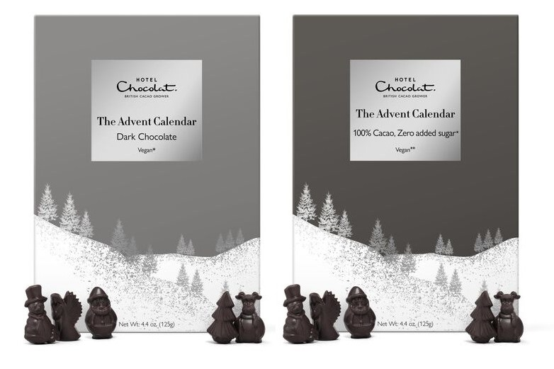 Hotel Chocolat Dark Chocolate Advent Calendars