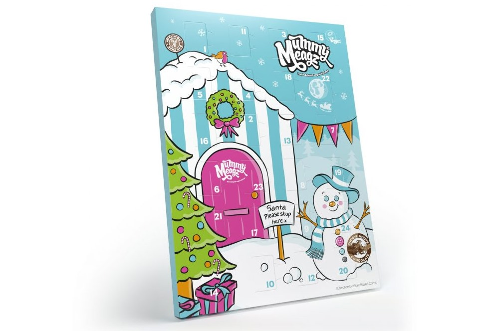 Our BIG round-up of Dairy-Free Advent Calendars. Pictured: Mummy Meagz