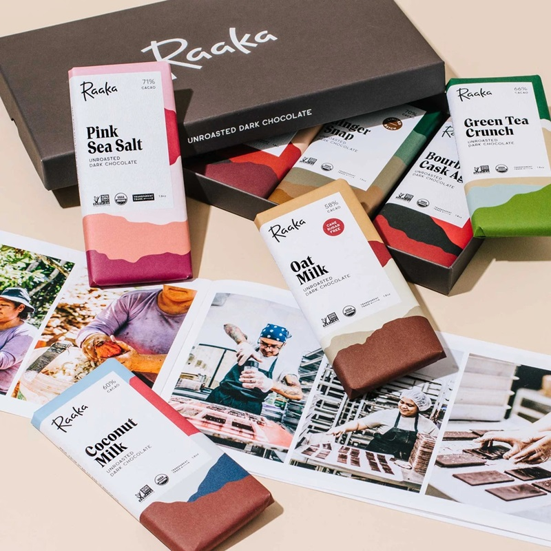 The Best Dairy-Free Chocolate Gifts for the Holidays. Pictured: Raaka Chocolate Library