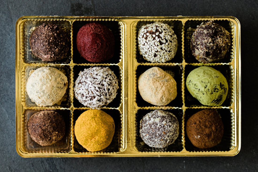 The Best Dairy-Free Chocolate Gifts for the Holidays! Pictured: Vegan Truffles from A Piece of Chocolate