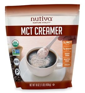 Nutiva MCT Creamer Review and Info - Dairy-free, Paleo ,and Keto Friendly