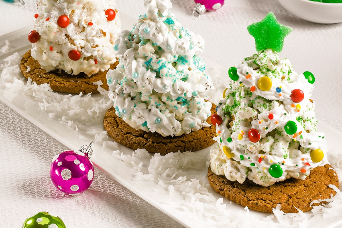 Popcorn Christmas Trees Recipe (Dairy-Free Version with Allergy-Friendly, Gluten-Free and Vegan Options)