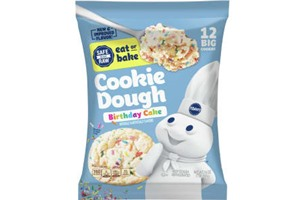 Pillsbury Cookie Dough Comes in All These Dairy-Free Varieties! Reviews, Ingredients & Full Details. Pictured: Pillsbury Birthday Cake Ready to Bake Cookie Dough