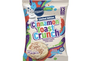 Pillsbury Cookie Dough Comes in All These Dairy-Free Varieties! Reviews, Ingredients & Full Details. Pictured: Pillsbury Cinnamon Toast Crunch Ready to Bake Cookie Dough
