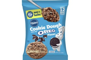 Pillsbury Cookie Dough Comes in All These Dairy-Free Varieties! Reviews, Ingredients & Full Details. Pictured: Pillsbury Oreo Ready to Bake Cookie Dough