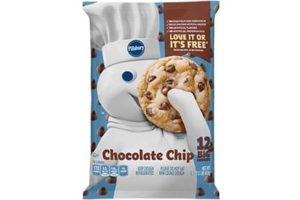 Pillsbury Cookie Dough Comes in All These Dairy-Free Varieties! Reviews, Ingredients & Full Details. Pictured: Pillsbury Chocolate Chip Cookie Dough